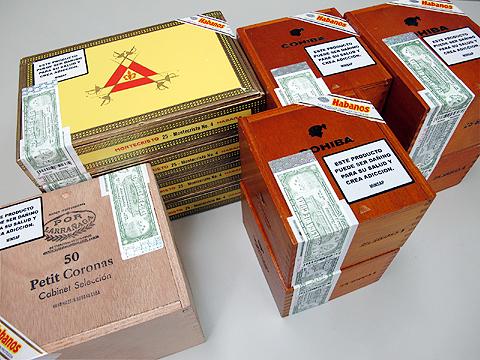 2010年5月 キューバ買い付け葉巻