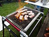 イベリコ豚の炭火焼