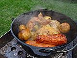 鶏もも肉のダッジオーブンロースト